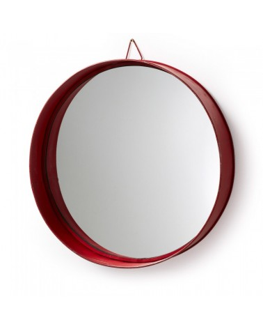 A327R04 ASSIDO MIRROR METAL RED