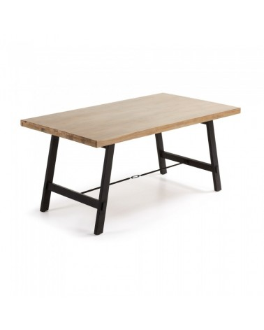 VITA Table 105x210 Wood Acacia Natural V010M46