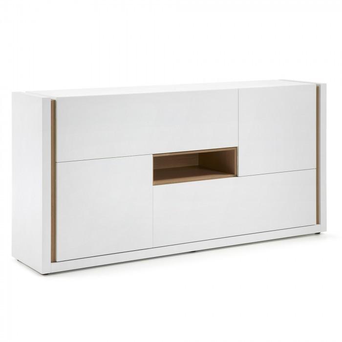 A464L05 QU Sideboard 197x97 lacquered matt white