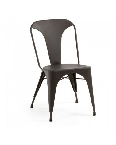 MALIBU Chair Metallic Graphite C803R02
