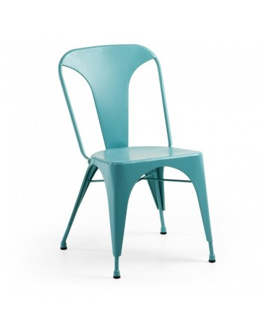 MALIBU CHAIR METALLIC TURQUOISE C803R80