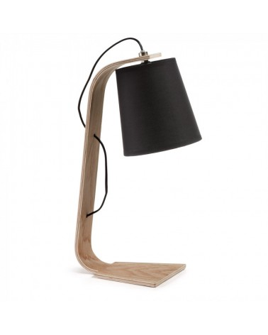 A491J01 PERCY TABLE LAMP SHADE BLACK
