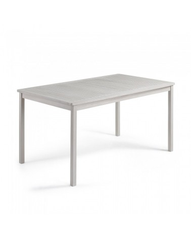 CC0213M14 BERKELEY Table 150x90 wood acacia light grey