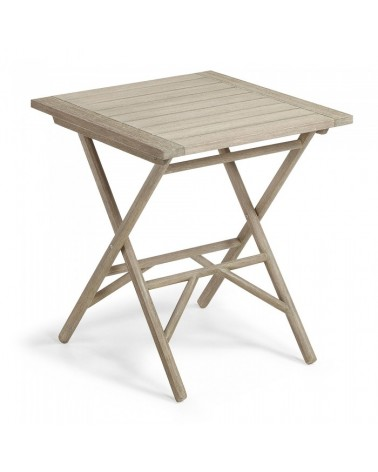 CC0201M46 PICOT Table 70x70 eucalyptus grey wash