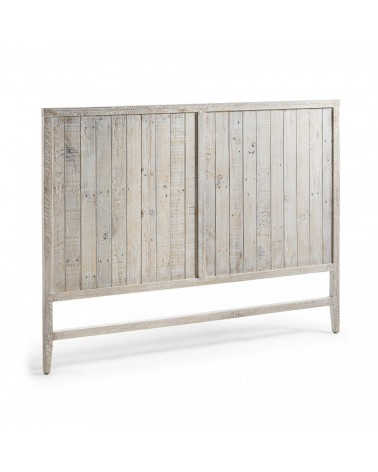 WD007M33 WOODY Headboard 174x130 pine wood white wash