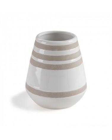 AA0561K05 ARCO Vase ceramic white