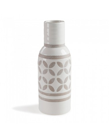 AA0563K05 ARCO Vase ceramic white