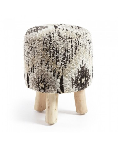 AA1089J03 BEL Stool cotton grey