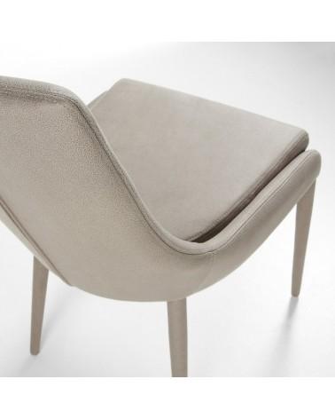 C626EN14 DANT Chair Eco-Nobuck Light grey
