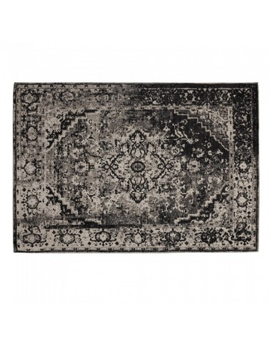 AA1109J15 POL Carpet cotton 160x230 dark grey
