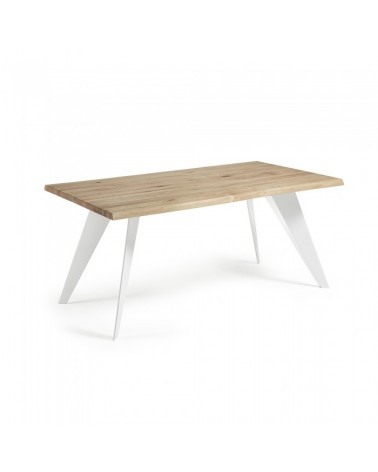 CC0009M40 NACK Table 180x100 White, natural oak