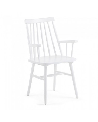 CC0429M05 KRISTIE Armchair wood white