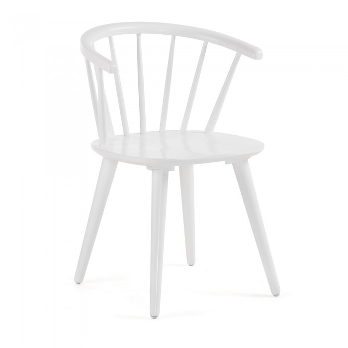 CC0219M05 KRISE Chair wood white