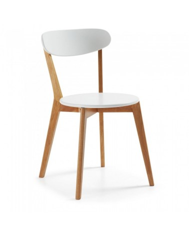 C489L05 LUANA Chair wood natural white