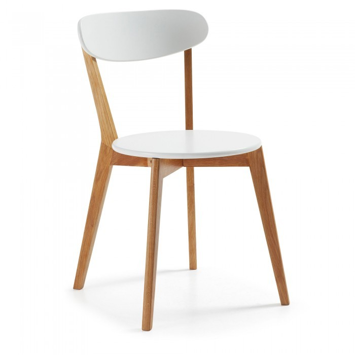 C489L05 LUANA Chair wood natural white