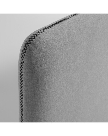 D041VA03  LYDIA Headboard 150 cm fabric grey