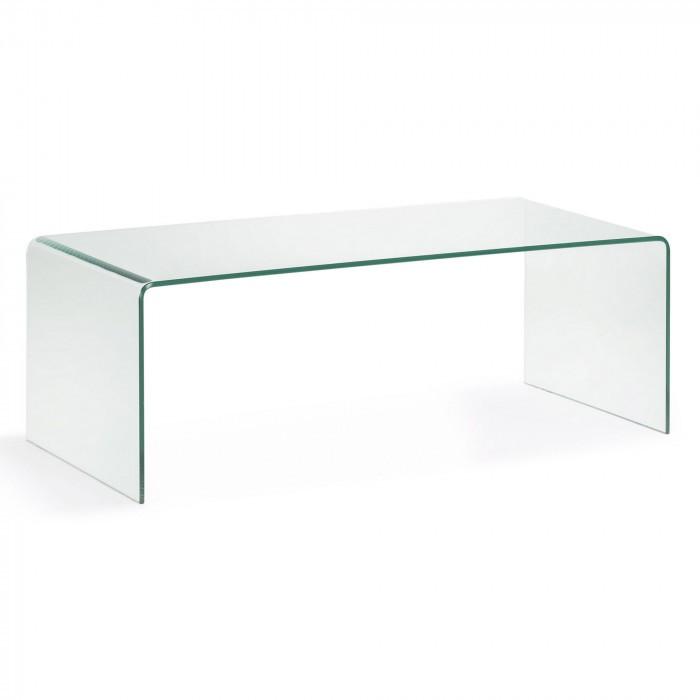 506109TRA BURANO Coffee table 110x38 clear glass