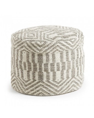 AA0676J03 HUGO Pouf 50x35 cotton grey