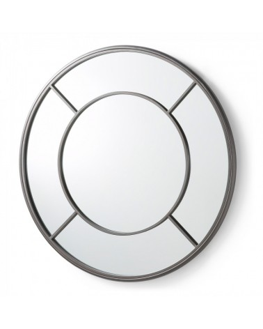 A849C37 DESMOND Mirror metal grey