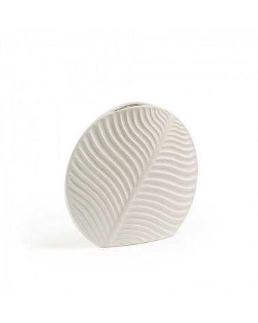 AA1992K05 LIZZY Vase 23 cm ceramic white