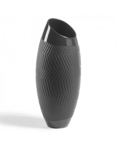 AA1419K01 MUNDO Vase 36 cm ceramic black