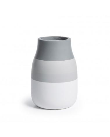 AA1208K03 NOVI Vase ceramic grey