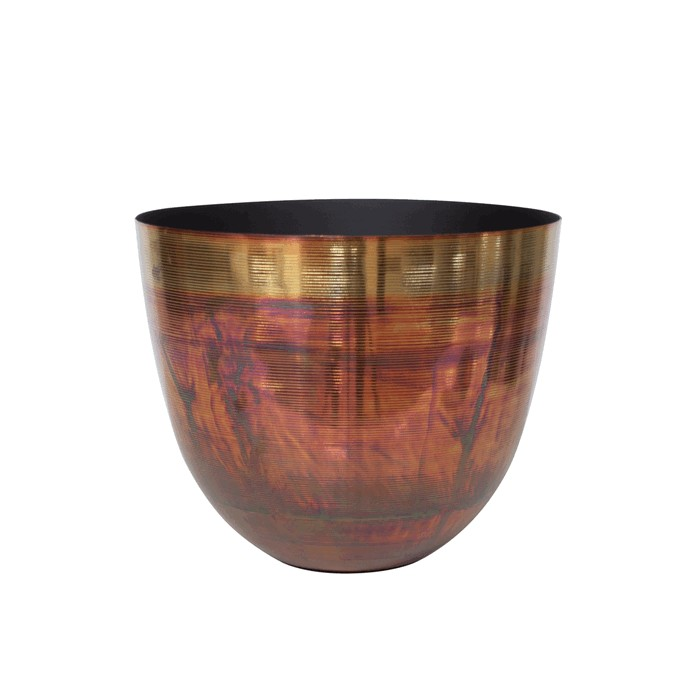 D3-S14/COP bowl multi color finish S