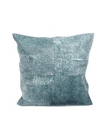 NZL4545/BL cushion new zealand lambskin