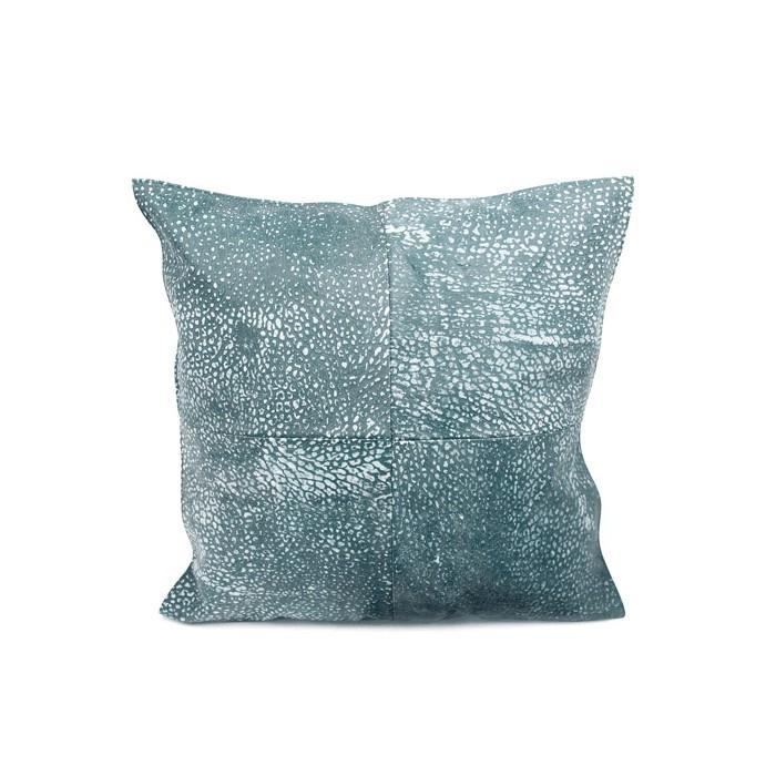 NZL4545/BL cushion new zealand lambskin