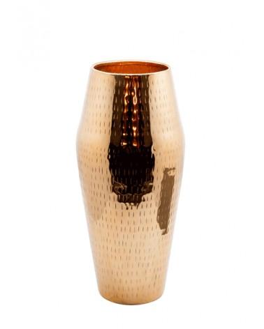 V2-A62/COP vase aluminium  hammered M