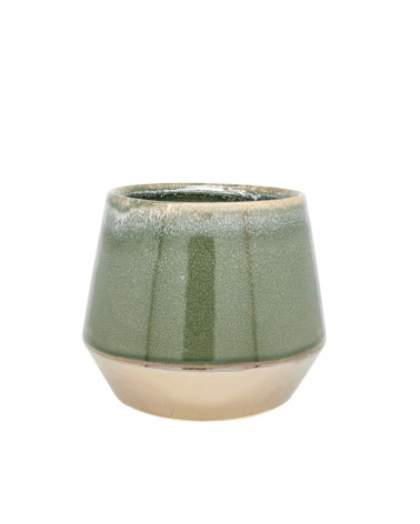 V2-C319/GR vase ceramics bronze bottom S