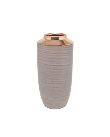 V2-C322/RS vase ceramics high model & rose gold