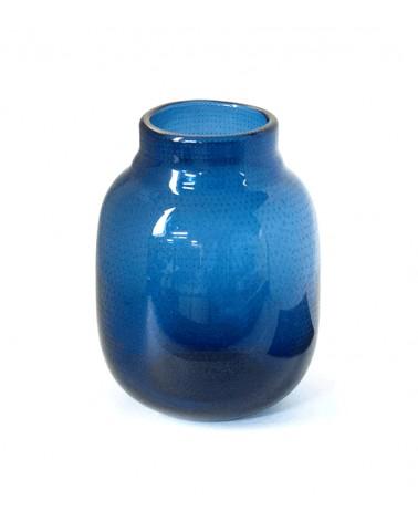V2-G369/BL vase glass S