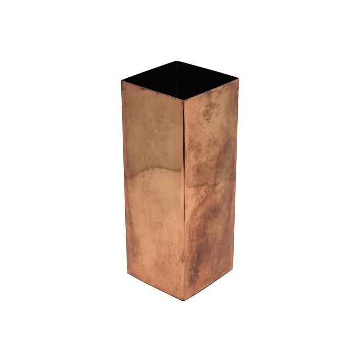V2-S84/COP vase iron S
