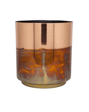 V2-S92/COP vase iron mix color S
