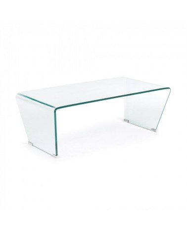 C943C07 BURANO Coffee table 120x40 glass clear