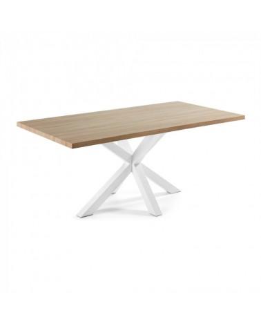 ARYA Table 200x100 Epoxy white Natural C360M46