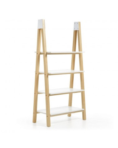 AA0161L05 STICK Bookshelf 89x180 ash natural, lacquered matt