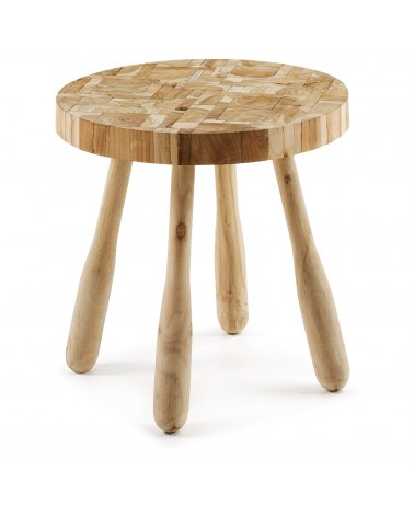 C500M47 GUSTAV Side table wood teak