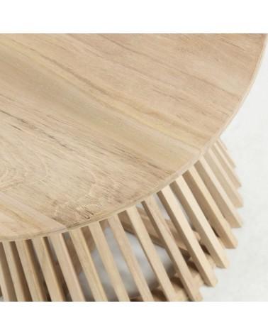 CC0623M47 IRUNE Side table teak wood