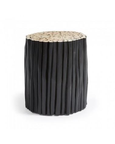 FILIPPO SIDE TABLE WOOD BLACK CC0047M01