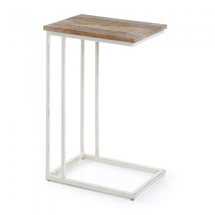 AA0098R05 SHADOW Side Table metal white