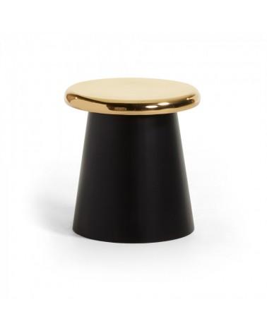 AA1449R53 PHIL Side table metal black brass
