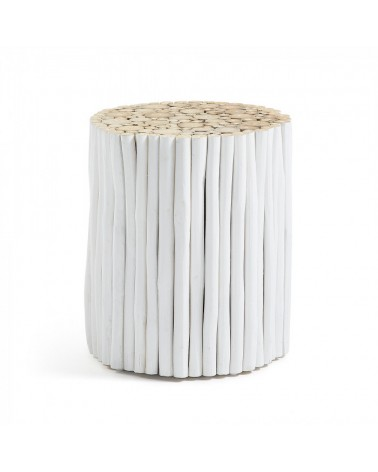 FILIPPO SIDE TABLE WOOD WHITE CC0047M05