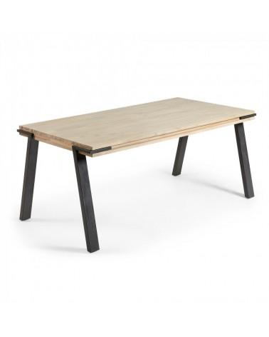 DI011M46  DISSET Table 200x95 wood acacia natural