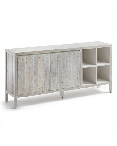 WD011M33 WOODY Sideboard 176x82 pine wood white wash
