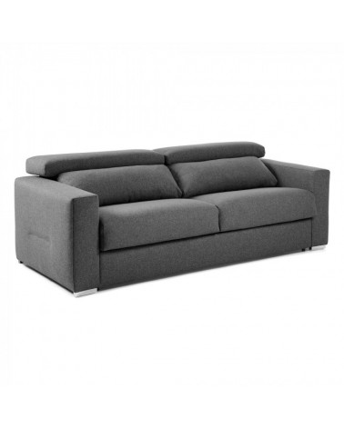 S313CH02 QUEEN Sofa bed reclining 160 visco mattress graphite