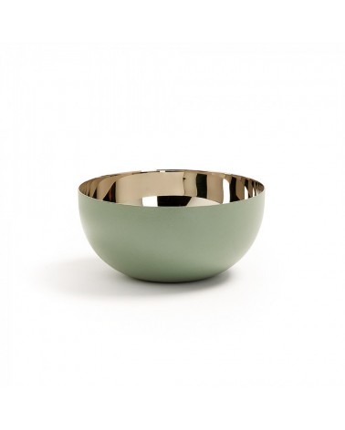 AA1277R20 BUBBLE Bowl stainless steel light green