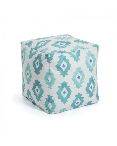 AA2512J26 ANDAR Pouf 45x45 fabric green