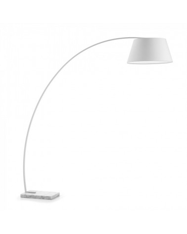 A497J05  CHOP Floor Lamp Shade white